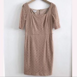 London Times lace midi dress size 12